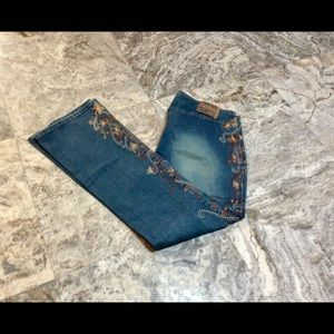 Z Cavaricci Embroidered Jeans 14